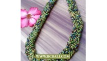 Multi Colors Seed Beaded Necklaces Fashion