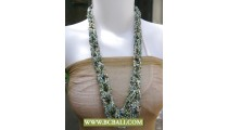 Seed Beading Coloring Fashion Necklaces