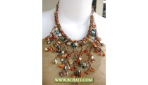 Shells Mix Beads Necklaces