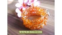 Handmade Bracelets Beads Stone Rolling