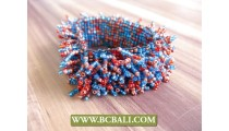 Beaded Multi Grass Bracelets Mix Color