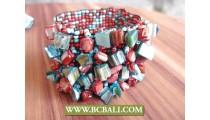 Coloring Mix Beads Shells Bracelet Women