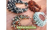 Expandable Fix Wired Multi Color Bracelets
