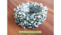 Expandering Glass Bead Grass Multi Threads