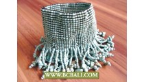 Tassels Bracelets Beads Elastic Charming Stone