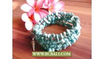Turquoise Stone Beads Roll Bracelets Designs