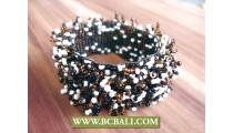 Wristband Beaded Bracelets Handmade