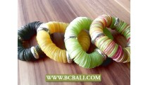 bali seashells coins stretch bracelets fancy color