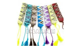 crystal miyuki beads bracelets tassel medium