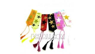 miyuki crystal beaded tassels bracelets large star
