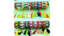 tassels bracelets beads crystal miyuki motif small