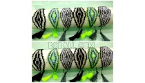 tassel bracelets crystal beads pyramid design motif