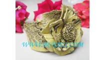 Leather Flower Snake Fashion Accessories