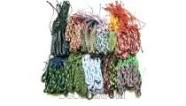 braided bracelet friendship tree colors leather strings