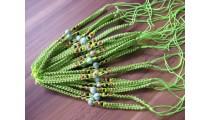 nylon hemp bracelet handmade 20 pieces bali