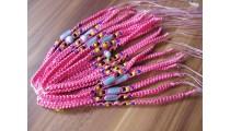 nylon hemp bracelet friendship 20 pieces