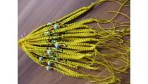 nylon hemp bracelets friendship 20 pieces