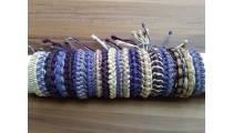 genuine leather braids friendship handmade