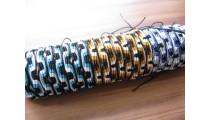mix color nylon hemp braids bracelets 20 pieces