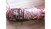 hemp bracelets cowrie shells handmade mix 20 pieces