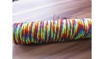 hemp bracelets friendship rainbow color mix