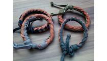 leather bracelet hemp for men's designs 4 color