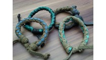 leather bracelet hemp for men's handmade new