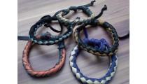 leather bracelet hemp un gender designs 2015