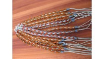 friendship hemp bracelets leather weave designer