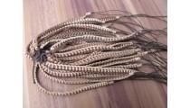 leather hemp bracelets braids friendship handmade natural