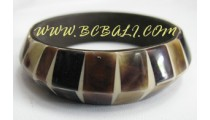 Bangle Seashells Resin Handmade