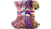 crochet braids bracelets friendship multi color