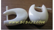 Bone Earring Organic