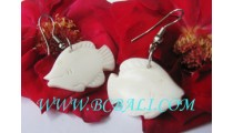Bone Fish Earring Carvings