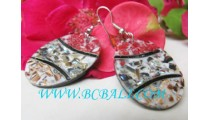 Sea Sand Shell Earrings Design