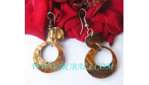 Crash Shells Earring Hook Resin