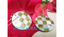 Earrings Fashion Golden Shell Handmade