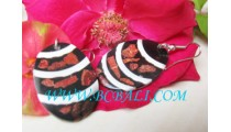 Rezin Shell Earrings Bali