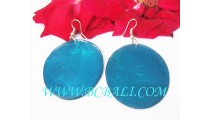 Blue Shells Earring Fashion Hooked