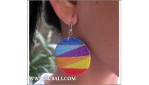 Woman Earring Colored Fashion Bali