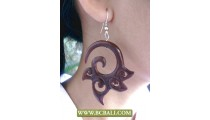 Balinese Woods Tribal Ear Carved