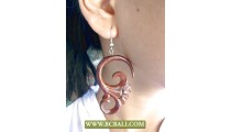 Wholesale Bali Wooden Earring Carving