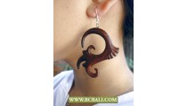Wholesale Natural Wooden Ear Carved