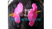 Flowers Hair Accessories Rubber