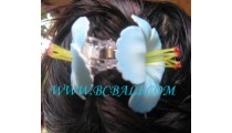 Flower Hair Accessories Tropical