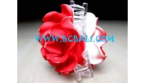 Hair Clip Rose Flower