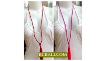 Necklace Tassel Fashion Handmade Bali