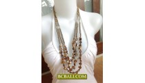 Seashells Beading Multi Strand Fashion bali