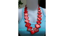 Bali Cow Bone Necklaces Handmade