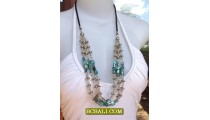 Bali Fashion Bead Necklaces Triangle